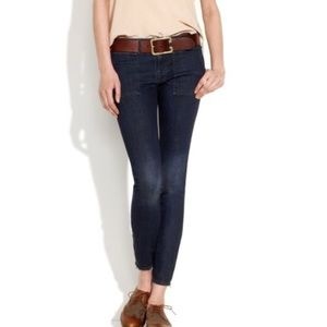 MADEWELL Skinny Switchyard Jeans